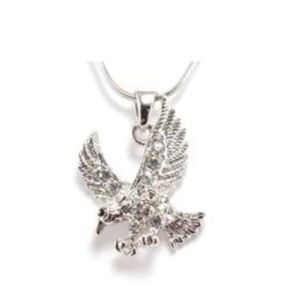 Amazing Detail Eagle Pendant Necklace